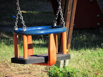 Children's swing seat Stock Photos