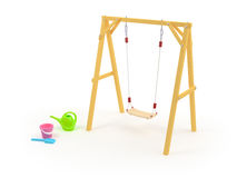 Children's swing Stock Image