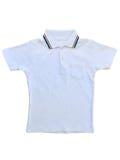 Children& x27; s T-shirt op een witte achtergrond Stock Afbeeldingen
