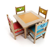 Children's Tables And Chairs Stock Photos