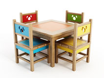 Children's Tables And Chairs Stock Image