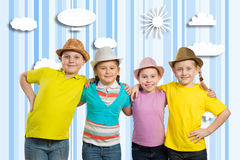Children's team Stock Photography