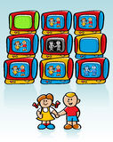 Children's Television Stock Images