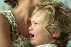 Children's to mountain Royalty Free Stock Photos