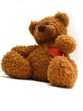 Children's toy. Teddy bear Royalty Free Stock Photo
