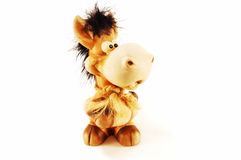 Children's toy bull Stock Images