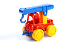 Children's toy the car-crane Stock Photo