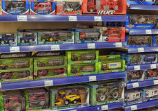 Children's toy cars Stock Image