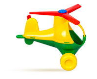 Children`s toy helicopter Royalty Free Stock Photo
