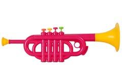 Children`s toy horn Stock Image