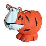 Children's toy tiger moneybox Royalty Free Stock Images