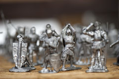 Tin soldiers Royalty Free Stock Photo