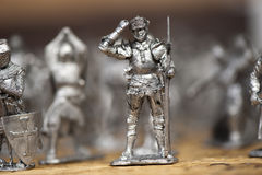 Tin soldiers Stock Photography