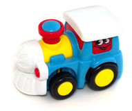 Children's Toy Train Royalty Free Stock Photography