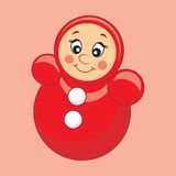 Children's toy. Vector illustration. Royalty Free Stock Photography