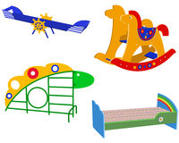 Children's toys Royalty Free Stock Photo