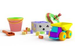Children's toys royalty free stock photo
