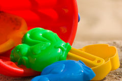 Children's toys close up Royalty Free Stock Photos