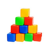 Children's toys cubes Stock Images