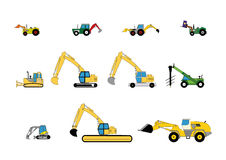 Children's toys digger Royalty Free Stock Photos