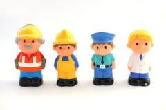 Children`s toys - figures of men. royalty free illustration