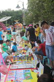 The children's trading market in Shenzhen Happy Valley square Royalty Free Stock Photography