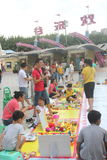 The children's trading market in Shenzhen Happy Valley square Stock Photo