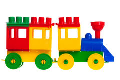 Children's train isolated Royalty Free Stock Images