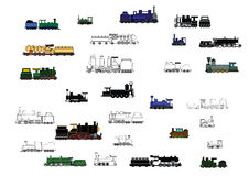 Children's_trains Stock Image