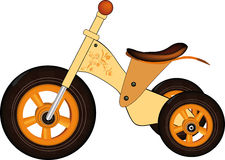 Children's tricycle Royalty Free Stock Images