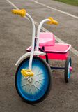 Children's tricycle Royalty Free Stock Photos