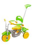 Children's Tricycle, isolated Stock Image