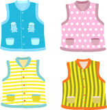 Children's waistcoat Royalty Free Stock Images