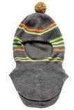 Children's warm woolen knitted hat Royalty Free Stock Photos