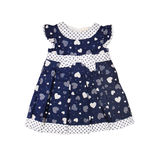 Children's wear. Baby dress on a white background Stock Image