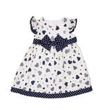 Children's wear. Baby dress on a white background Royalty Free Stock Images