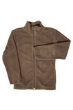 Children's wear - brown jacket Royalty Free Stock Photography