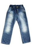 Children's wear - jeans Stock Image