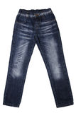 Children's wear - jeans Stock Images