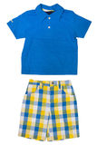 Children's wear - shirt and shorts Stock Photography