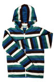 Children's wear - striped jacket Royalty Free Stock Image