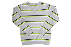 Children's wear - striped sweater Stock Photography