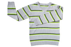 Children's wear - striped sweater Royalty Free Stock Photo