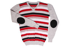 Children's wear - striped sweater Stock Images