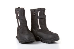 Children's winter boots Stock Photography