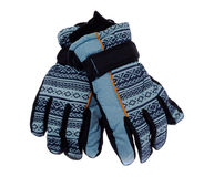 Children`s winter gloves Royalty Free Stock Images