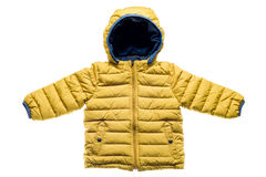 Children's winter jacket Stock Photo