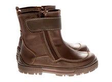 Children's winter shoes Stock Image