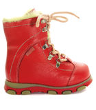 Children's winter shoes Royalty Free Stock Photography