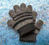 Children's woolen gloves Stock Photography